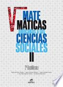 Matemáticas aplicadas a las Ciencias Sociales II 2º Bachillerato (2020)