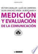 Medición y evaluación de la comunicación