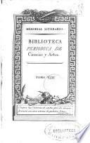 Memorial Literario o Biblioteca Periodica de ciencias, literatura y artes
