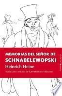 Memorias del señor de Schnabelewopski