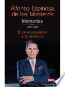 Memorias. Tomo 1 1961-1988
