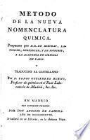 Método de la nueva nomenclatura química