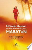 Método Hanson de entrenamiento para maratón