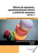 MF0709_2 - Ofertas de repostería, aprovisionamiento interno y control de consumos