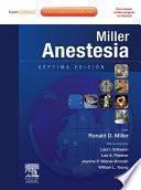Miller. Anestesia + Expert Consult
