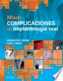 Misch. Complicaciones en implantología oral