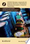 Montaje y reparación de sistemas eléctricos y electrónicos de bienes de equipo y máquinas industriales. FMEE0208