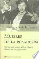 Mujeres de la posguerra