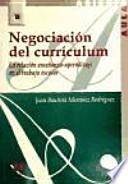 Negociación del currículum