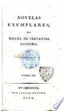 Novelas exemplares, de Miguel de Cervantes Saavedra