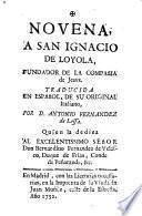 Novena a S.Ignacio de Loyola