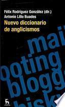 Nuevo diccionario de anglicismos