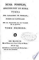 Numa Pompilio, segundo rey de Roma