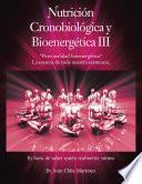 Nutrición Cronobiológica Y Bioenergética Iii (Edición a Color)
