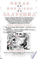 Obras. - Amberes, Verdussen 1677-1678