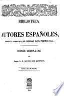 Obras completas del Excmo. Sr. D. Manuel Jose Quintana