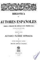 Obras de Alvaro Flórez Estrada
