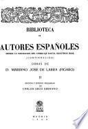 Obras de D. Mariano José de Larra (Figaro)