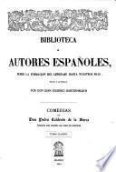 Obras de don Pedro Calderón de la Barca