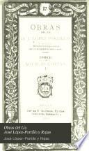 Obras del Lic. José López-Portillo y Rojas