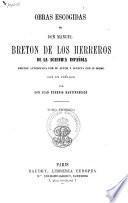Obras escogidas de don Manuel Breton de los Herreros
