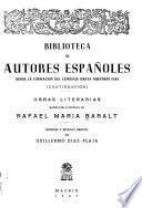 Obras literarias publicadas e inéditas