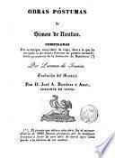 Obras póstumas de Simon de Nantua