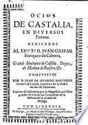 Ocios de Castilia en diversos poemas