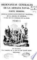 Ordenanzas generales de la armada naval, 1