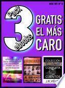 Pack 3 ebooks, Gratis el más caro
