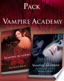 Pack con Vampire Academy (Vampire Academy 1) + Sangre azul (Vampire Academy 2)