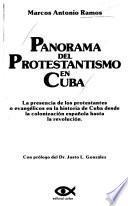 Panorama del protestantismo en Cuba