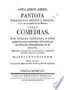 Pantoja, ó resolucion histórica teologica de un caso práctico de moral sobre comedias