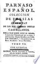 Parnaso Espanol. Coleccion de poesias escogidas de los mas celebres poetas Castellanos