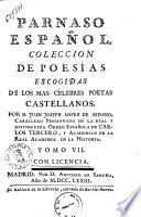 Parnaso espanol. Coleccion de poesías escogidas de los mas célebres poetas castellanos. Tomo 1 [-9]