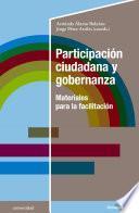 Participación ciudadana y gobernanza