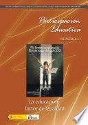 Participación educativa nº 11. Revista cuatrimestral del Consejo Escolar del Estado