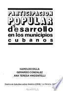 Participación popular y desarrollo en los municipios cubanos