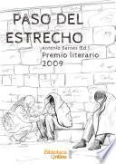 Paso del Estrecho. Premio Literario 2009
