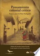 Pensamiento colonial crítico