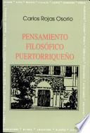 Pensamiento filosófico puertorriqueño