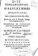 Pensamientos o reflexiones christianas