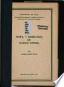 Perfil y semblanza de Vicente Espinel