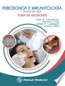 Periodoncia e implantología dental de Hall