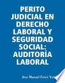 PERITO JUDICIAL EN DERECHO LABORAL Y SEGURIDAD SOCIAL: AUDITORÍA LABORAL
