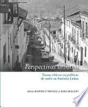 Perspectivas urbanas