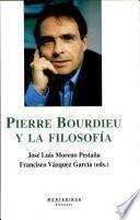 Pierre Bourdieu y la filosofía
