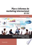 Plan e informes de marketing internacional