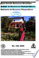 Plant Genetic Resources Newsletter