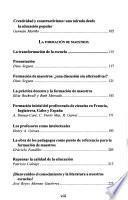 Planteamientos en educación: La evaluación. La formación de maestros